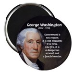 "Politics: George Washington 2.25"" Magnet (100 pack"
