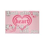 Twilight Valentine Heart Rectangle Magnet (10 pack