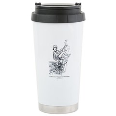 Thrillbilly ceramic travel mug
