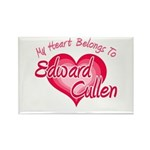 Edward Cullen Heart Rectangle Magnet (10 pack)