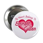 Emmett Cullen Heart 2.25&quot; Button (10 pack)