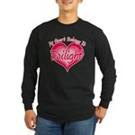 Heart Belongs Twilight Long Sleeve Dark T-Shirt