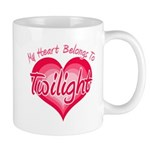 Heart Belongs Twilight Mug