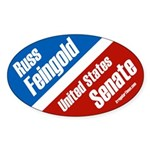 Russ Feingold for United States Senate campaign bumper sticker