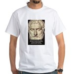 Greek Philosophy: Thales White T-Shirt
