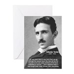 Nikola Tesla Greeting Cards (Pk of 10)