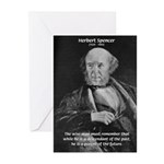 Herbert Spencer Greeting Cards (Pk of 10)