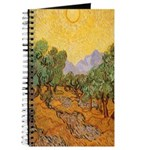 Van Gogh Olive Trees Journal