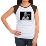 Socrates: Wisdom from Leisure Women's Cap Sleeve T