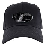 Mary Shelley Frankenstein Black Cap