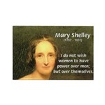 Novelist Mary Shelley Rectangle Magnet (100 pack)