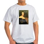 Writer Mary Shelley Ash Grey T-Shirt