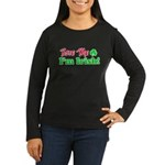 Bite Me I'm Irish Women's Long Sleeve Dark T-Shirt