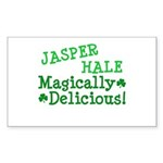 Jasper Magically Delicious Rectangle Sticker 50 p