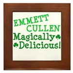 Emmett Magically Delicious Framed Tile