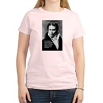 Arthur Schopenhauer Truth Women's Pink T-Shirt
