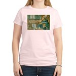 Saint Augustine of Hippo Women's Pink T-Shirt