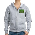 Irish Car Bomb Team Shamrock Women's Zip Hoodie