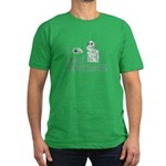 Like Zombies Too Men's Fitted T-Shirt (dark)