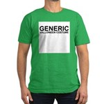 """Generic Costume"" Men's Fitted T-Shirt (dark)"