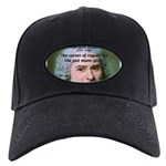 French Philosopher Rousseau Black Cap