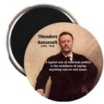 "Theodore Roosevelt 2.25"" Magnet (100 pack)"
