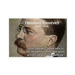 President Theodore Roosevelt Rectangle Magnet (10