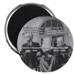 2nd World War: Stalin Roosevelt Churchill Magnet