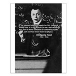 Wolfgang Pauli: Principles in Physics Small Poster