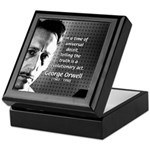 Novelist George Orwell Keepsake Box