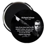 "Motivation Richard Nixon 2.25"" Magnet (10 pack)"