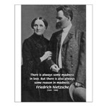 Nietzsche Love Madness Reason Small Poster