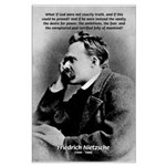 Vanity God and Nietzsche Large Poster