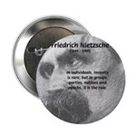 "Group Insanity: Nietzsche 2.25"" Button (100 pack)"