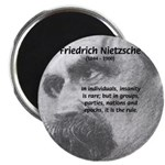 "Group Insanity: Nietzsche 2.25"" Magnet (100 pack)"