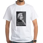 Music, Genius and Mozart White T-Shirt