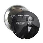 "Irish Poet: Thomas Moore 2.25"" Button (100 pack)"