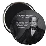 "Irish Poet: Thomas Moore 2.25"" Magnet (100 pack)"