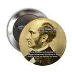 "Utilitarianism John Mill 2.25"" Button (10 pack)"