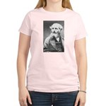 Maxwell's Electromagnetic Equations Women's Pink T