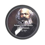 Karl Marx Religion Opiate Masses Wall Clock