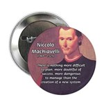 "Political Theory: Machiavelli 2.25"" Button (10 pac"