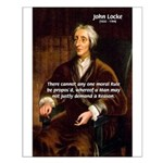 Philosophy John Locke Small Poster