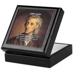 Change and John Locke Keepsake Box