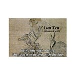 Lao Tzu: Being One Rectangle Magnet (10 pack)