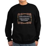 Due Diligence Compliance Sweatshirt (dark)