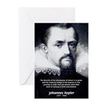 Kepler Scientific Revolution Greeting Cards (Packa