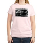Education John F. Kennedy Women's Pink T-Shirt