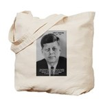 American Politics JFK Tote Bag