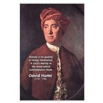 David Hume on Beauty Large Poster